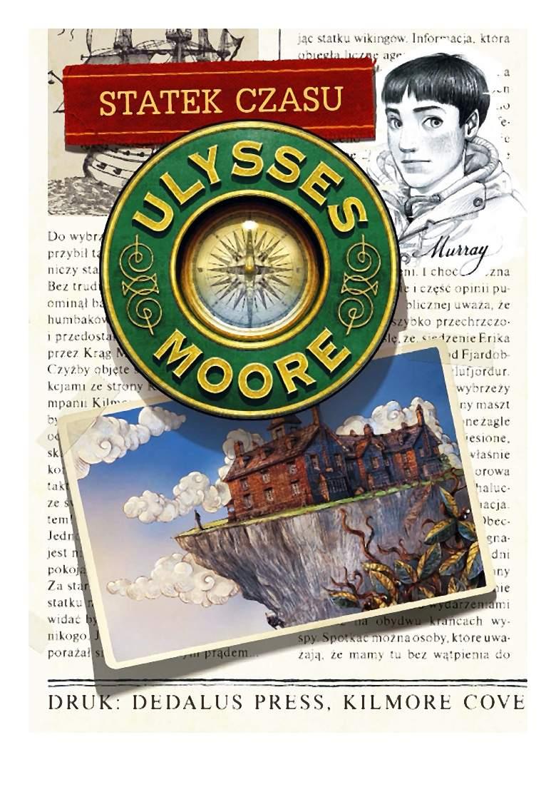 Ulysses Moore. Tom 13. Statek czasu – Pierdomenico Baccalario