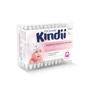 Kindii Baby Sensitive bawe_niane patyczki dla niemowl_t