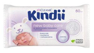 Kindii New Baby Care_chusteczki nawil_ane do delikatnej sk_ry noworodk_w i niemowl_t