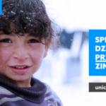 Nadejście zimy zagraża życiu i zdrowiu 1,5 mln dzieci na Bliskim Wschodzie